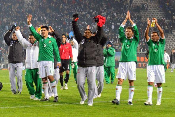 En el 2000 México volvería a toparse con Bolivia en partid...