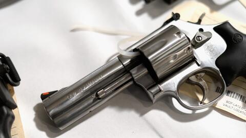 Revólver 357 Mágnum sacado de circulación de las ca...