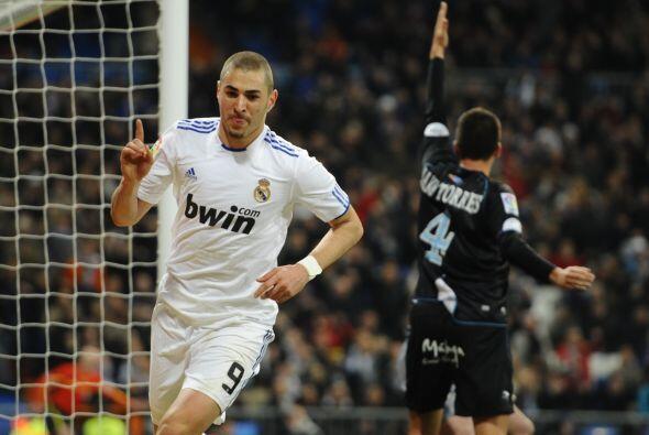 Benzema no había terminado su labor en el partido.