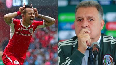 """La indirecta de Salinas a Martino: """"Espero mis números los vean los que dirigen la Selección"""""""