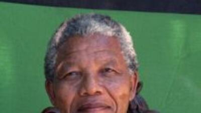 El expresidente sudafricano, Nelson Mandela.