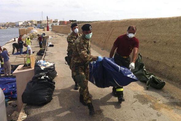 La alcaldesa de Lampedusa dijo que la tragedia es tan grande que no tien...
