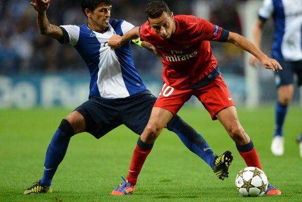 En Portugal, el Oporto fue local ante el millonario PSG.