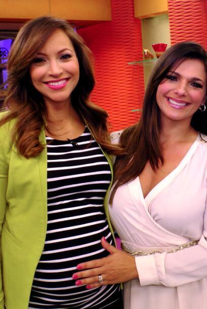 Bárbara Bermudo visitó Despierta América y pasó a saludar al bebito de S...