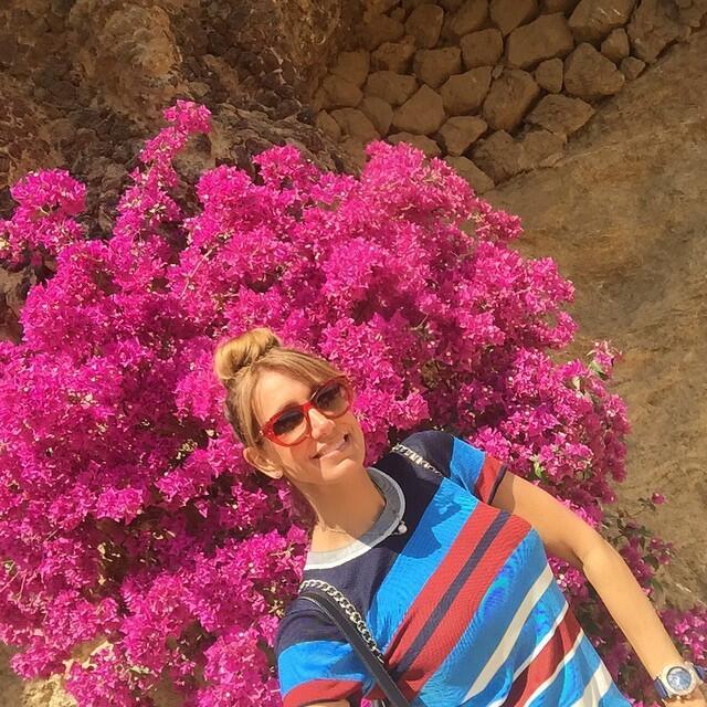 Lili Estefan sigue de vacaciones.