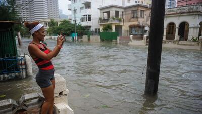En Fotos: La Habana inundada tras el paso del huracán Irma
