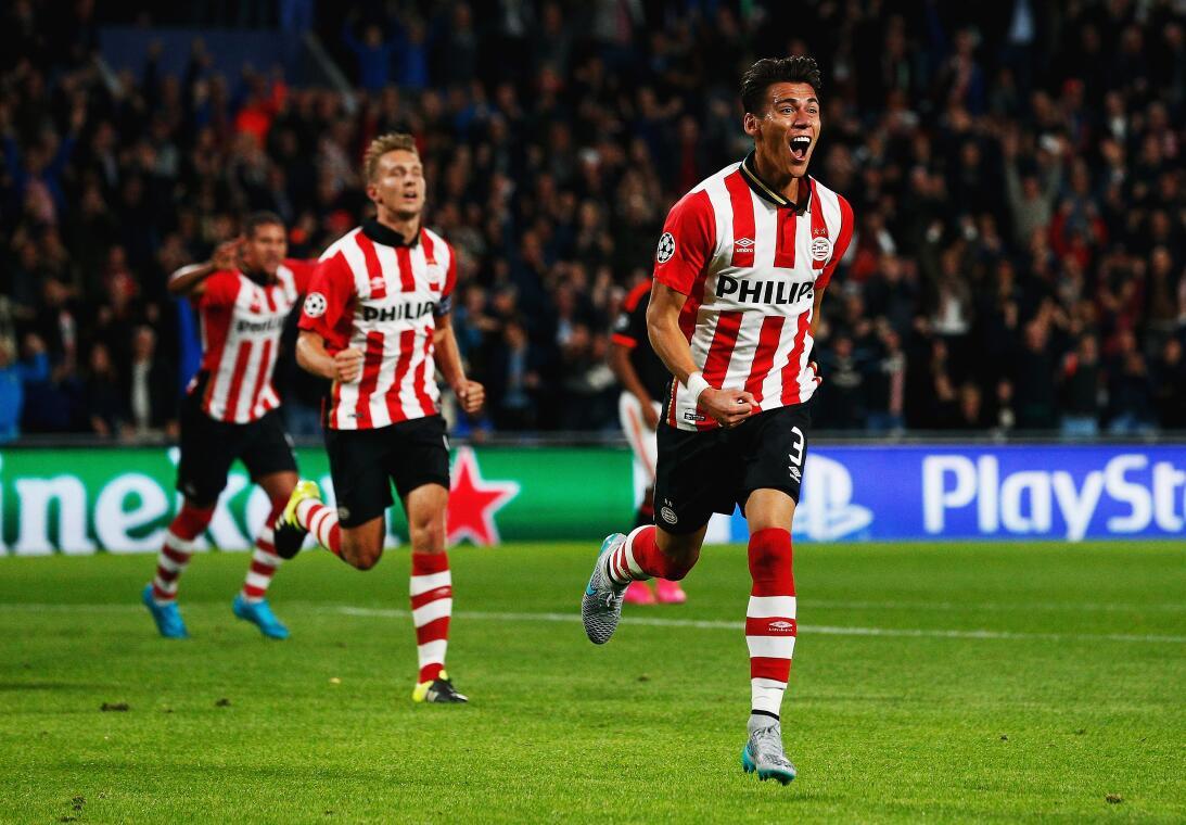 Héctor Moreno vivió una temporada de ensueño con el PSV EIndhoven en Hol...