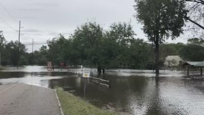 Autoridades de Goldsboro piden evitar contacto con aguas estancadas porque representan un peligro para la salud