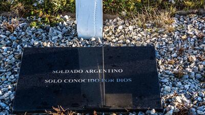 'Soldado argentino solo conocido por Dios'