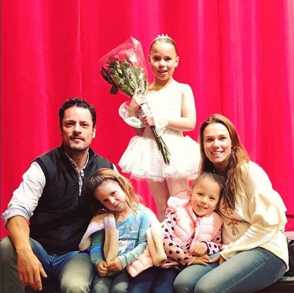 Mike Biaggio y su familia