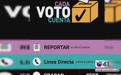 Desde tu teléfono podrás reportar problemas en los centros de votación