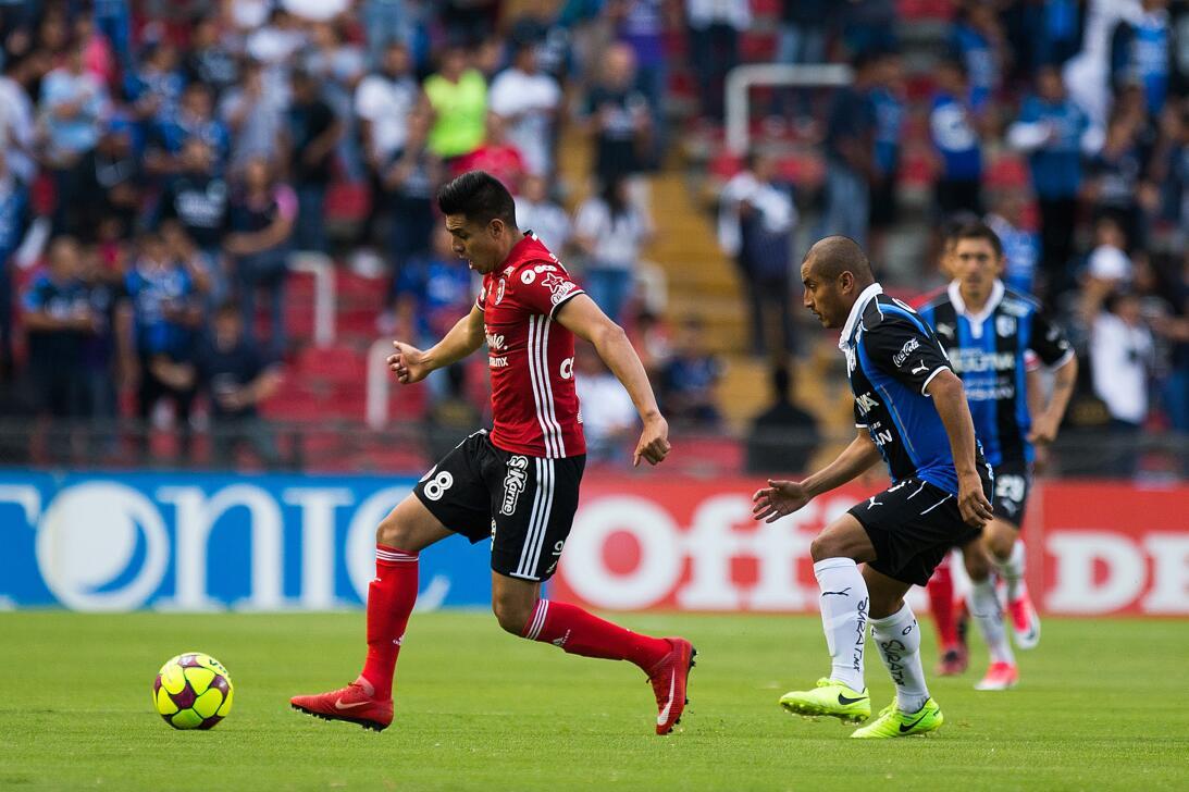 Los Xolos liquidaron a los Gallos en el Estadio Corregidora Joe Corona T...