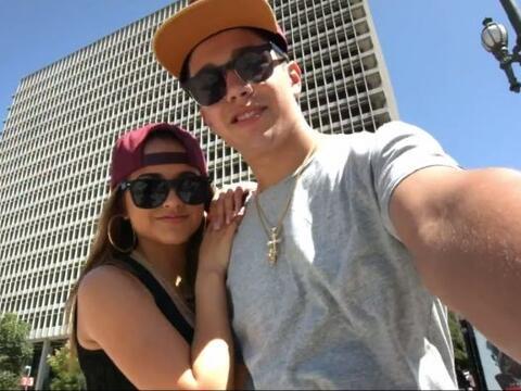 Becky G y Austin Mahone están 'in love' y así lo demostrar...