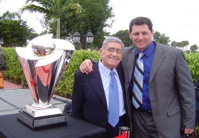 Dos grandes del deporte, Jose Luis Nápoles y Felo Ram{irez, junto...