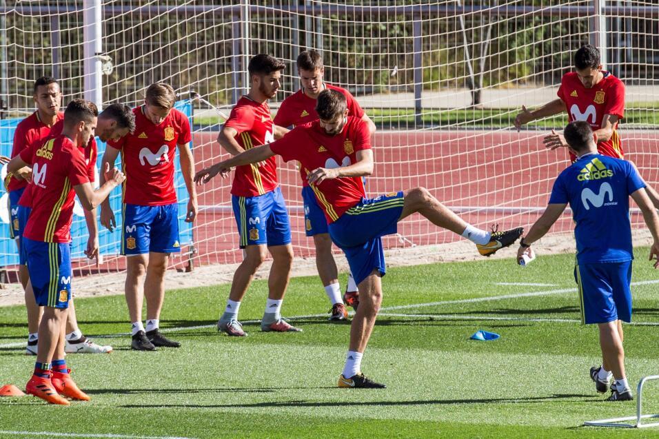 En medio de toda la polémica política que vive España, sus jugadores ya...