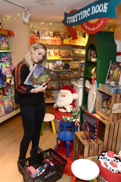 Hillary Duff ansiosa de que llegue Santa
