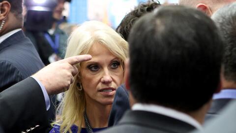 Kellyanne Conway, jefa de campaña de Donald Trump