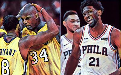 Embiid y Simmons la nueva dupla letal de la NBA.