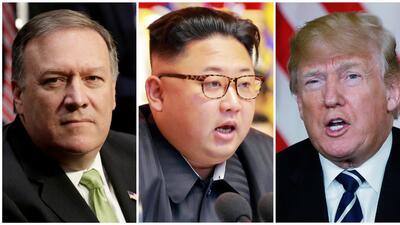 Pompeo viajó hace dos semanas a Corea del Norte en secreto para reunirse...