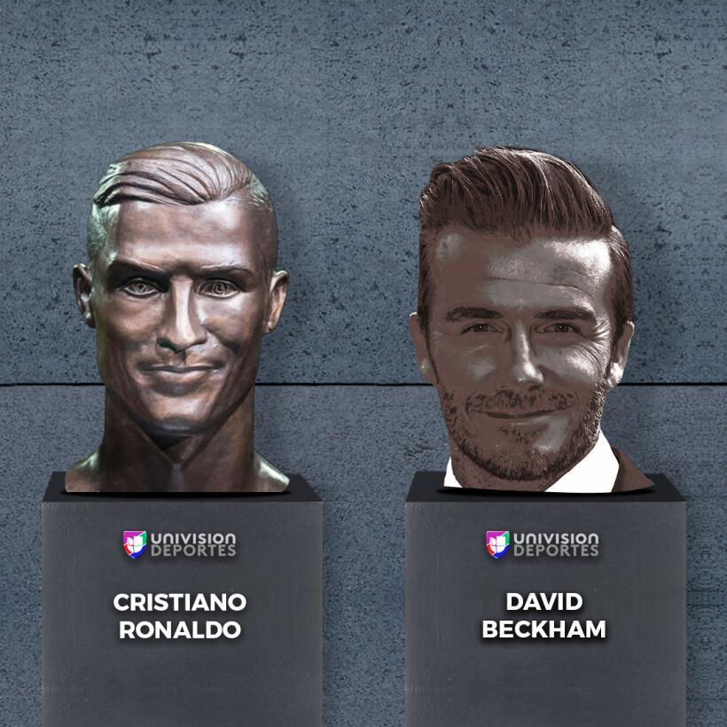 El nuevo busto de Cristiano no se salvó de los divertidos memes beckham.jpg