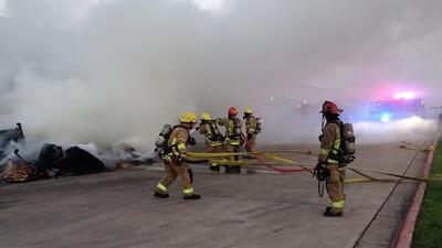 Una fábrica de Texas se incendia dos veces y las tortillas fritas son la causa