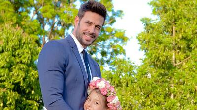 Adorables: mira la tierna sesión de fotos de William Levy y su hija Kailey