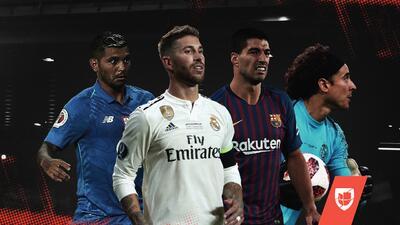 EN VIVO | Barcelona apabulló en el Clásico, Conte va al Real Madrid, Tecatito y HH le ganan al Pollo