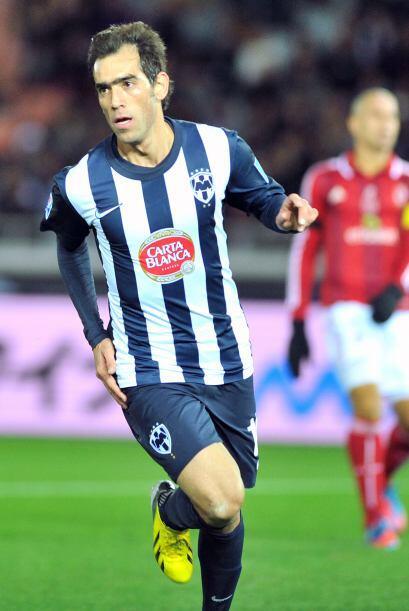Delgado lograba su tercer gol de la competencia.