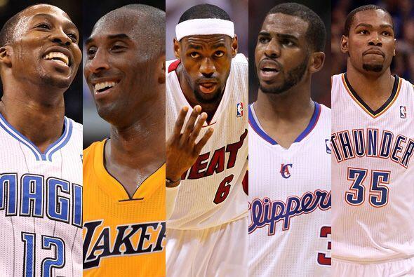 La NBA eligió a su equipo ideal de la temporada 2011/12...y aquí en Univ...