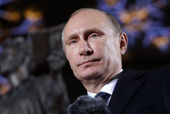 1. Vladimir Putin. El presidente de Rusia lidera el ranking de los l&iac...