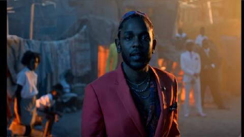 Rapper Kendrick Lamar appears in the music video for 'All The Stars.' Th...