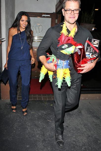 ¡Y qué graciosa la piñata!