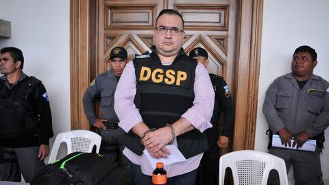 El exgobernador de Veracruz Javier Duarte, acusado de desvío de f...