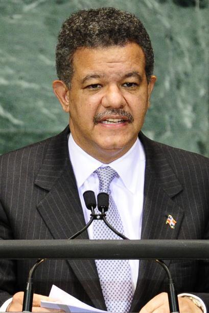 El 66% de los dominicanos es partidario de que el expresidente Leonel Fe...