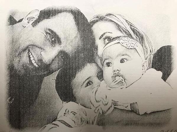 Florencia de Saracho y sus hijos