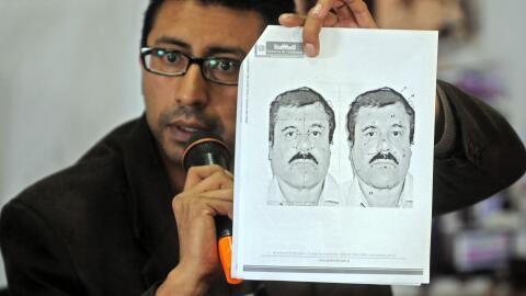 """Imagen de """"El Chapo"""" Guzmán"""