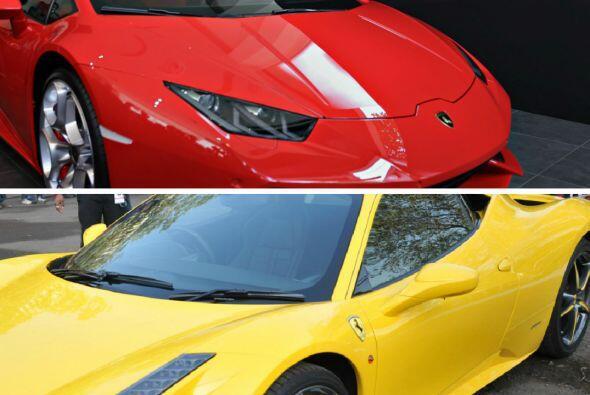 Lamborghini vs. Ferrari pieza por pieza, Chivas vs. América en el clásic...