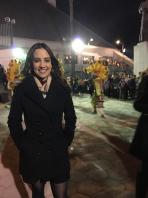 Mariana Atencio, Galavisión, Virgen de Guadalupe Monterrey