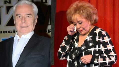 Enrique Guzmán estuvo casado con Silvia Pinal desde el 1967 al 1976.