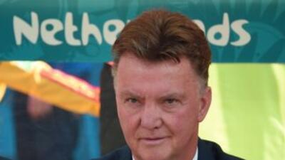 Van Gaal señaló que siempre busca una estrategia que le permita ganar.