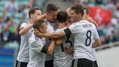Australia vs. Alemania
