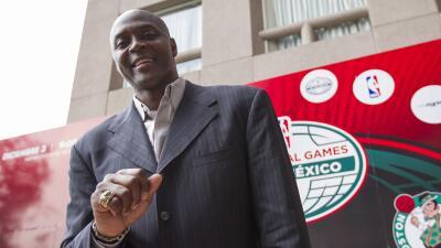 El ex jugador Horace Grant se presentó en el DF.