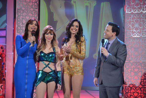 Alejandra felicitó y mostró su simpatía por Tatiana y Arliz, las dos afo...