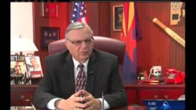 El exsheriff del condado Maricopa, Joe Arpaio, encontrado culpable de de...