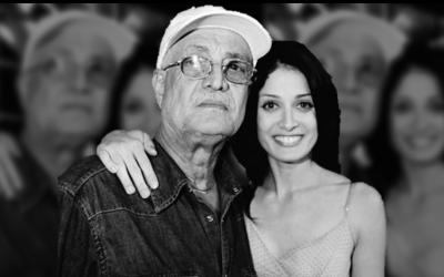 Dayanara Torres y su papá, José Torres, quien falleci&oacu...