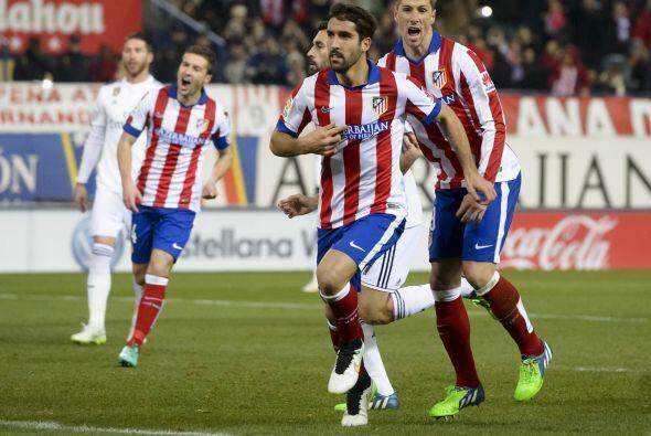 Muestra de la intensidad con la que juega el conjunto de Diego Simeone s...
