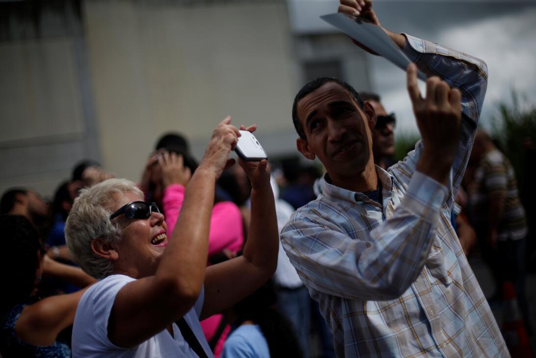 Eclipse Venezuela