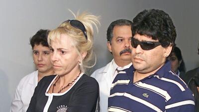 Claudia Villafañe y Maradona
