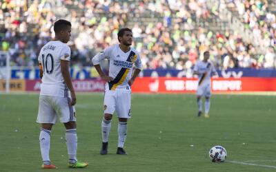 Gio y Jona dos Santos LA Galaxy