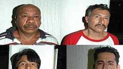 Los presuntos responsables del secuestro de un italiano en México, fuero...